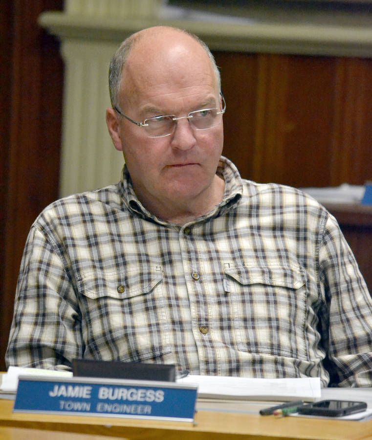 <p>KEITH CORCORAN, PHOTO</p><p>Jamie Burgess, Lunenburg's town engineer, pictured October 23, said there were some delays surrounding aspects of the biofilter project.</p>