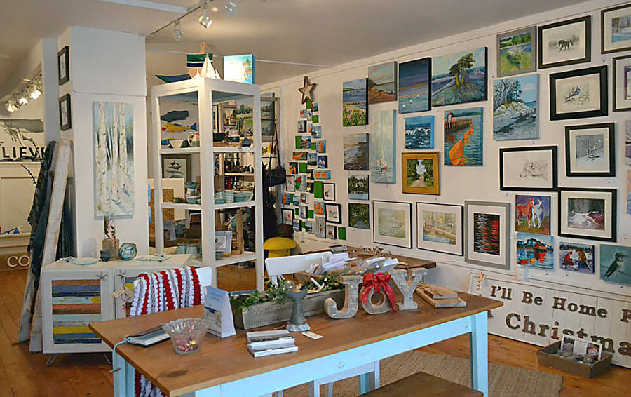 <p>GAYLE WILSON PHOTO</p><p>The interior of the Going Coastal store in Chester, where shoppers will find an array of Nova Scotian-made crafts and art work.</p>