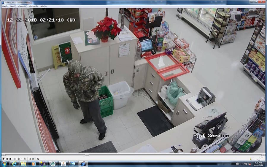 <p>Submitted photo</p><p>Another photo from one of the break-ins in Hubbards.</p>