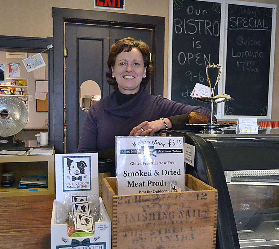 <p>GAYLE WILSON PHOTO</p><p>Anja Henschel and her husband Christoph have renovated the store to make it more warm and welcoming and expanded stocks to include specialty foods as well as a greater selection of NSLC beverages.</p>