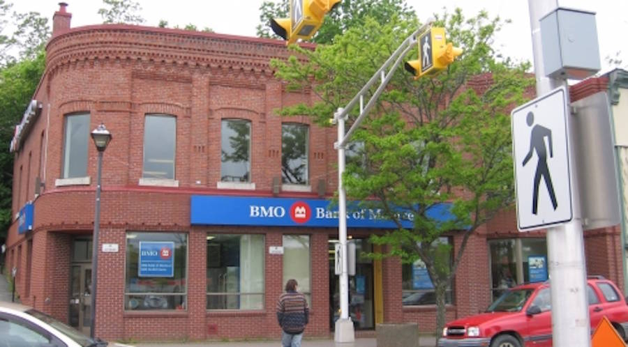 <p>File photo</p><p>The recently purchased BMO building on King Street in Bridgewater.</p>