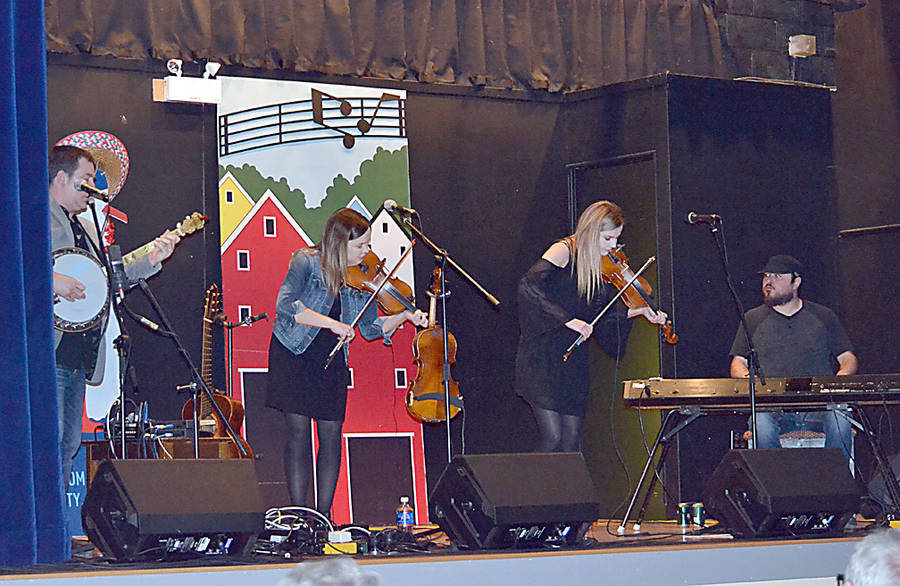 <p>GAYLE WILSON PHOTO</p><p>The Cape Breton Celtic band, C&#242;ig, will be on stage at the Lunenburg Folk Harbour Festival on its final evening, August 11.</p>