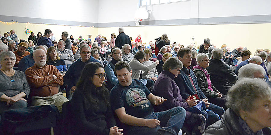 <p>GAYLE WILSON PHOTO</p><p>Approximately 250 attended Folk Fiesta at the Mahone Bay Centre March 30.</p>