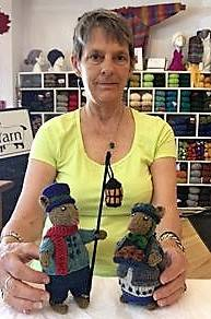 <p>CONTRIBUTED PHOTO</p><p>Charlene Scott holds a couple of the knitted mice, part of the 14-piece Dickensian mice set for which tickets are being sold to raise money for the New Brunswick and Nova Scotia ALS Society.</p>