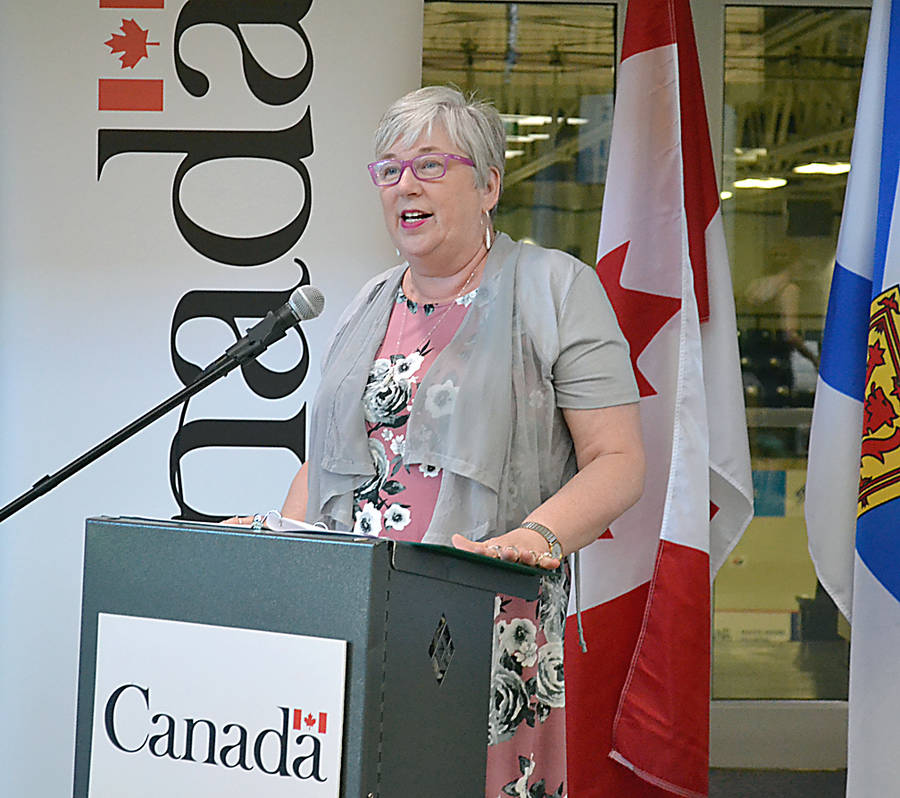 <p>GAYLE WILSON PHOTO</p><p>Rural Economic Development Minister and South Shore-St. Margaret&#8217;s MP Bernadette Jordan announced the federal government is contributing $500,000 toward a strategic study to redesign the Bridgewater Business Park.</p>