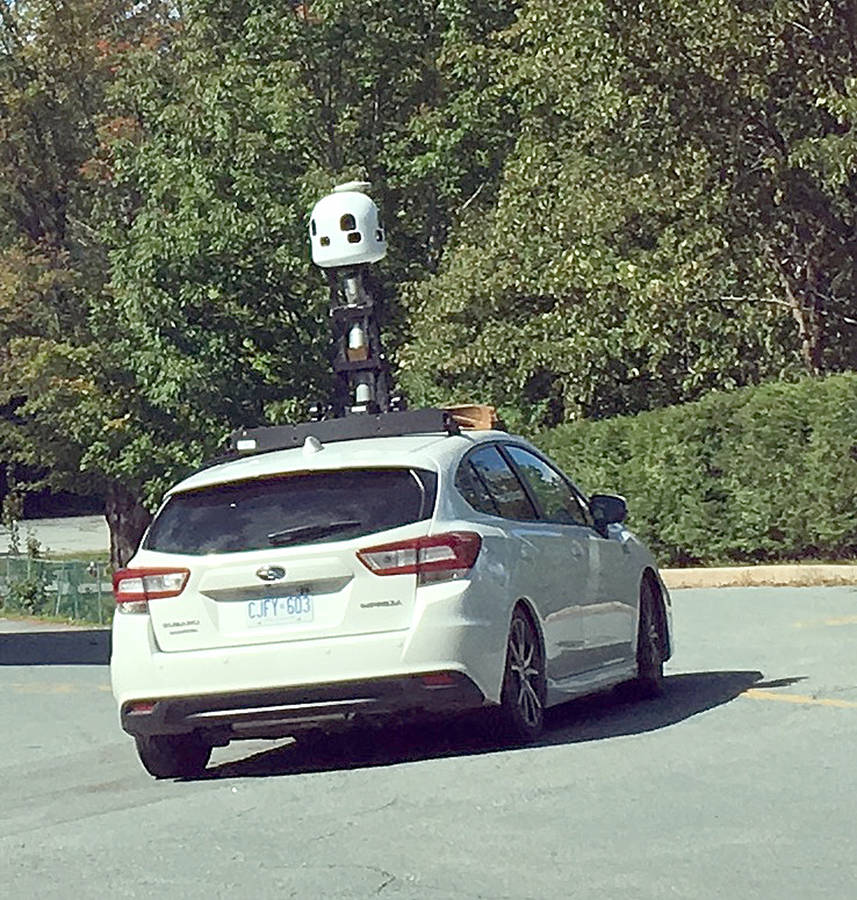 <p>KEITH CORCORAN, PHOTO</p><p>Apple Maps spotted in Bridgewater on September 13.</p>