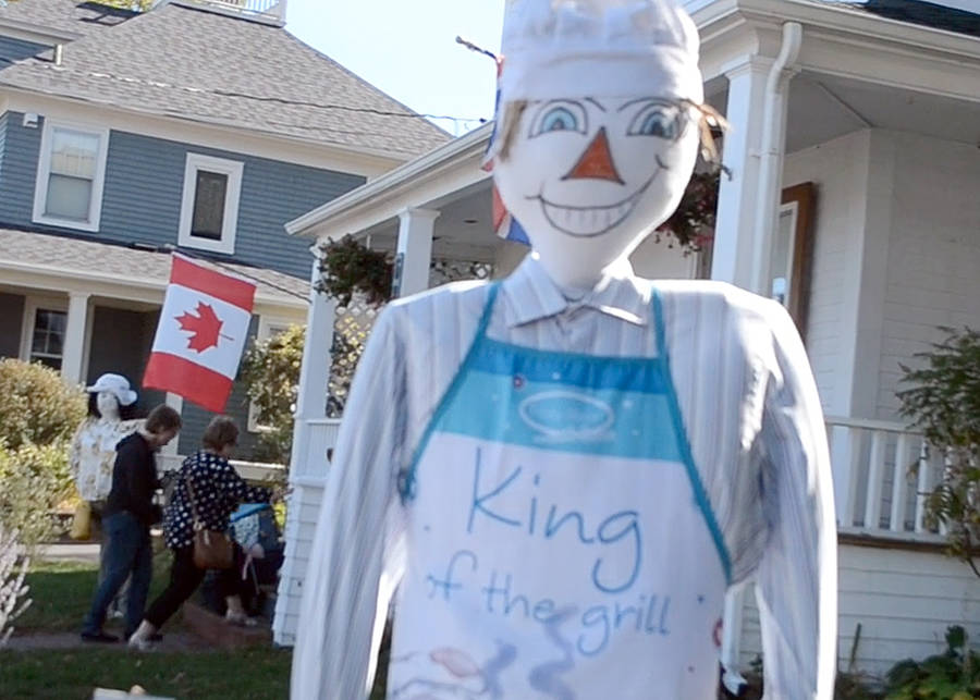 <p>KEITH CORCORAN, PHOTO</p><p>One of many handmade scarecrows on display in Mahone Bay.</p>