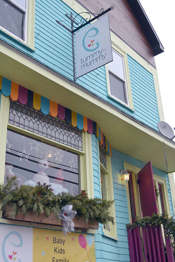 <p>GAYLE WILSON, PHOTO</p><p>The business Tummy to Mummy, which sells quality children&#8217;s clothing, toys and books in Mahone Bay, is now up for sale.</p>