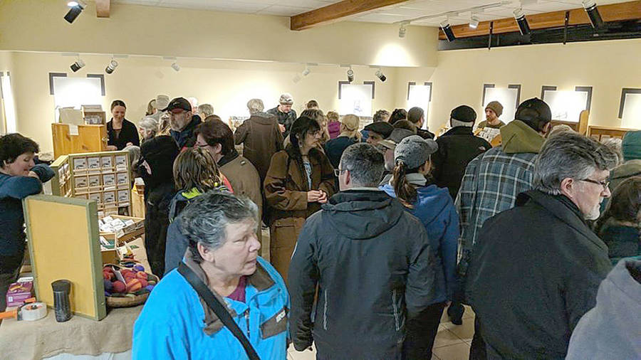 <p>FACEBOOK, PHOTO</p><p>Last February&#8217;s Seedy Saturday event drew more than 500 people to the DesBrisay Museum in Bridgewater.</p>