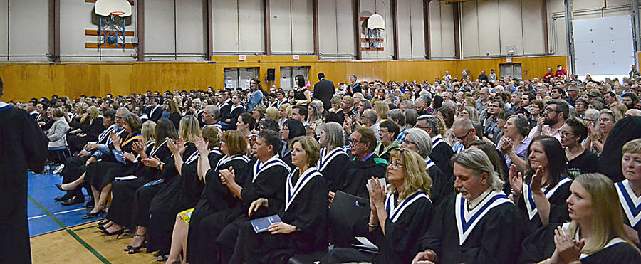 <p>FILE PHOTO</p><p>Grad 2019. This year, many of the students attending NSCC in Bridgewater will be delayed in graduating pending completion of their work terms, as a result of the pandemic.</p>
