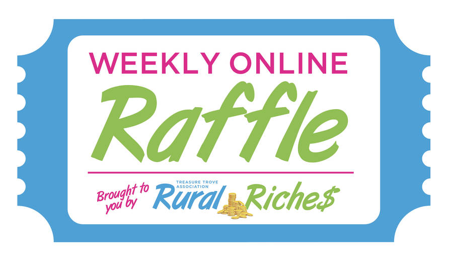 <p>Logo of the new Rural Riches online raffle.</p>