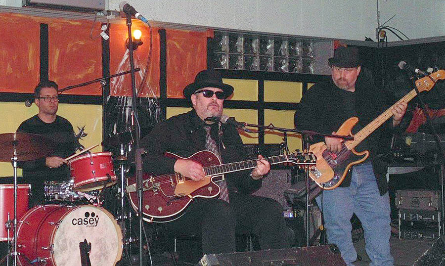 <p>CONTRIBUTED PHOTO</p><p>Robert Clark, on bass, along with Catahoula Brown, and Jordi Comstock on drums.</p>
