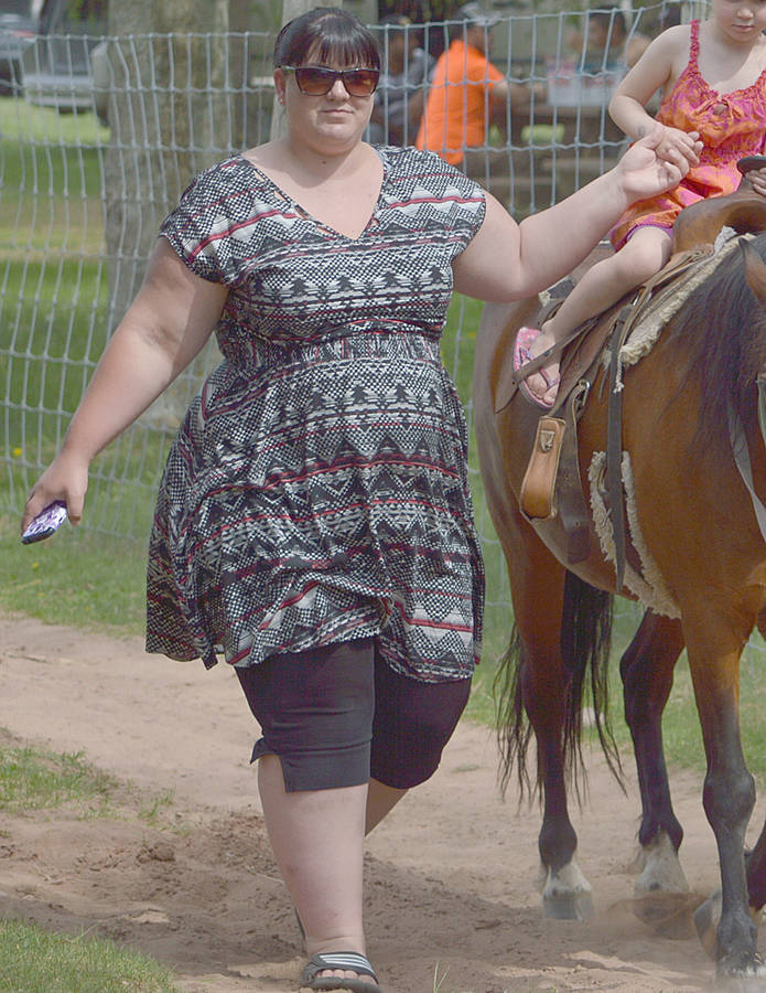 <p>CONTRIBUTED PHOTO</p><p>Brittany Hirtle created a new healthy lifestyle for herself and her family, and saw her weight peel away.</p>