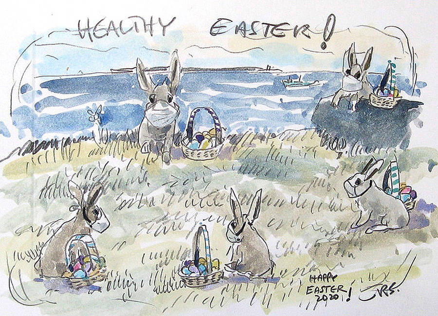 <p>CONTRIBUTED PHOTO</p><p>Roger Savage of Liverpool submitted<em> </em>Healthy Easter.</p>