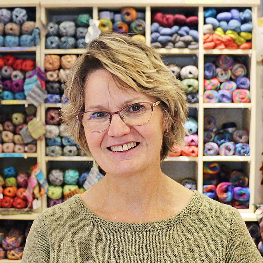 <p>CONTRIBUTED PHOTO</p><p>Heather Tunnah, owner of Have a Yarn in Mahone Bay.</p>