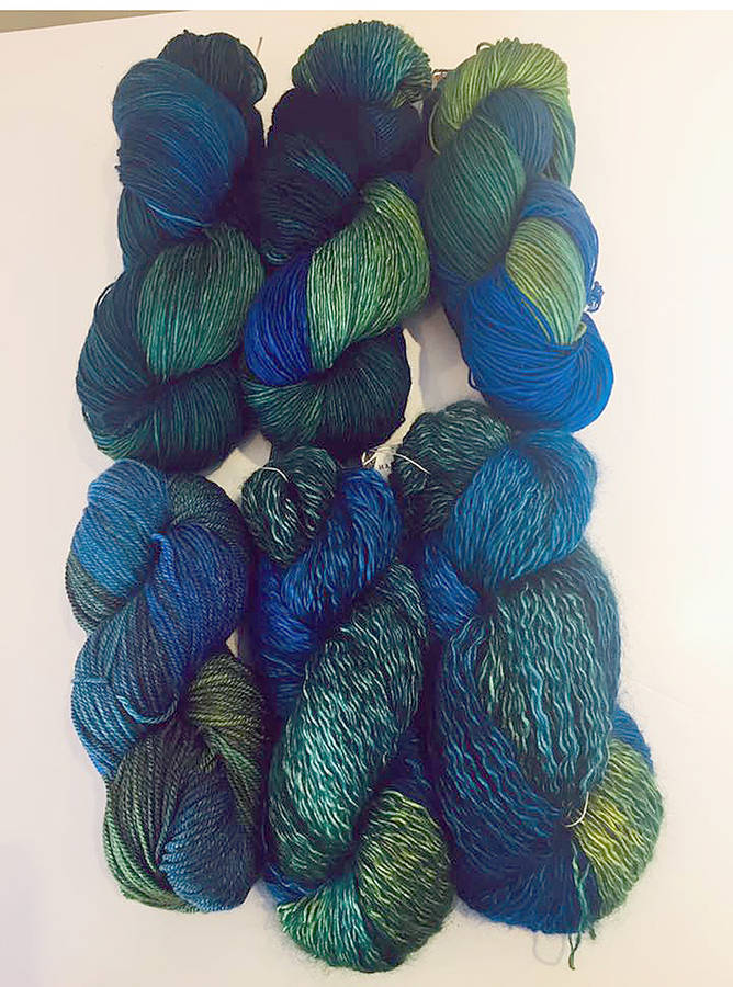 <p>FACEBOOK PHOTO, HAVE A YARN</p><p>Have a Yarn actively pushed sales of the blue and green yarn produced in Halifax called Nova Scotia, since up to five dollars of every skein sold was going to the Nova Scotia Strong campaign.</p>
