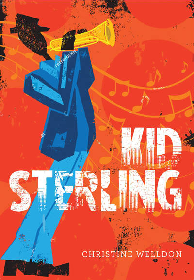 <p>Christine Welldon&#8217;s new book<em> Kid Sterling</em></p>