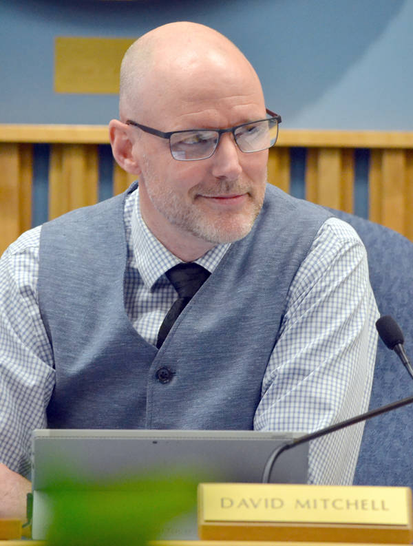 <p>FILE PHOTO</p><p>David Mitchell, pictured, seeks re-election as Bridgewater&#8217;s chief magistrate.</p>