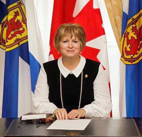 <p>SOURCE: GOVERNMENT OF NOVA SCOTIA</p><p>Lunenburg MLA Suzanne Lohnes-Croft, pictured October 13, after being sworn into executive council.</p>
