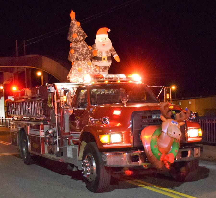 <p>FILE PHOTO</p><p>This year&#8217;s annual Liverpool Fire Department Christmas parade has been cancelled. But there will still be plenty to see and do in Queens County this Christmas season. See story Page 9.</p>