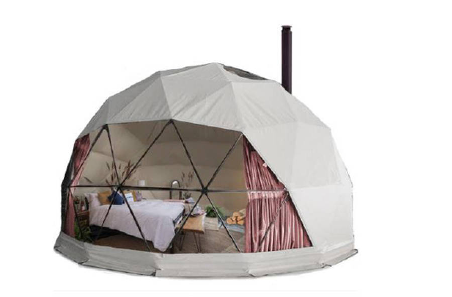 <p>A sample image of a dome tent, submitted to civic politicians in Mahone Bay in conjunction with a glamping proposal.</p>