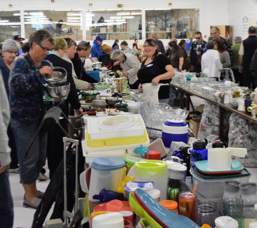 <p>FILE PHOTO</p><p>The 41st annual Queens Auxiliary Hospital Hustle will be held virtually this year. The annual event normally features a live and silent auction along with white elephant tables. Hundreds of people attend the event which raises about $20,000 each year for the Queens General Hospital.</p>