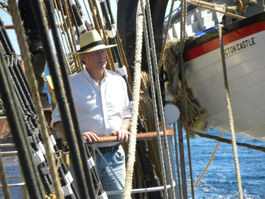 "<p>CONTRIBUTED PHOTO</p><p>The latest recipient of the Lifetime Achievement Award from Tall Ships America, Capt. Daniel Moreland of the ""Picton Castle.""</p>"