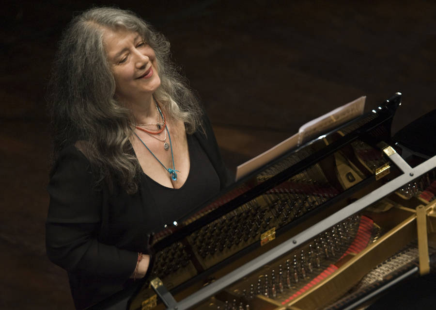 <p>CONTRIBUTED PHOTO</p><p>Celebrated pianist Martha Argerich will come to LAMP for classes and a performance with Walter Delahunt on April 2.</p>