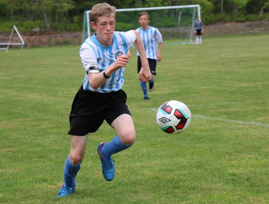 <p>CONTRIBUTED PHOTO</p><p>Callum Corkum was one of a half dozen South Shore soccer players who represented Nova Scotia at a Vancouver Whitecaps combine on the west coast this month.</p>