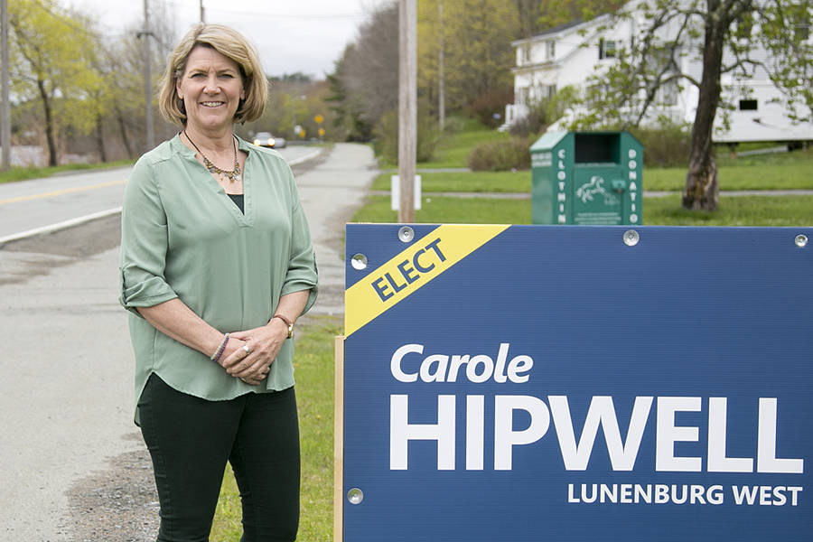 <p>BRITTANY WENTZELL PHOTO</p><p>Carole Hipwell, Progressive Conservative candidate for Lunenburg West.</p>