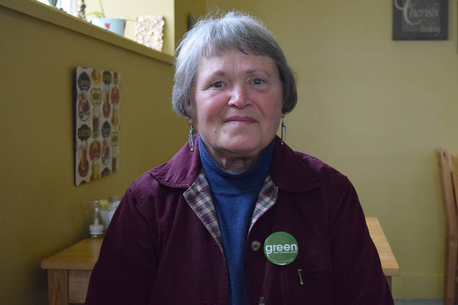 <p>MICHAEL LEE PHOTO</p><p>Green Party candidate Kathaleen Milan.</p>