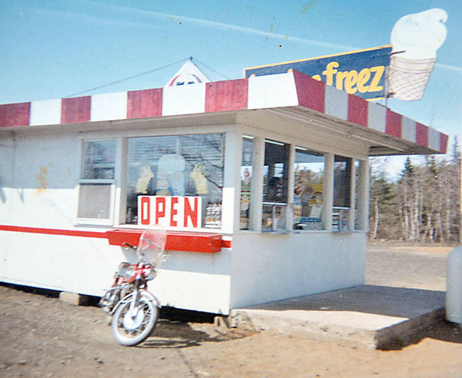 <p>CONTRIBUTED PHOTO</p><p>Earlier days. The Hebbville Tastee Freez as it was when it opened on Highway 3 in 1967.</p>