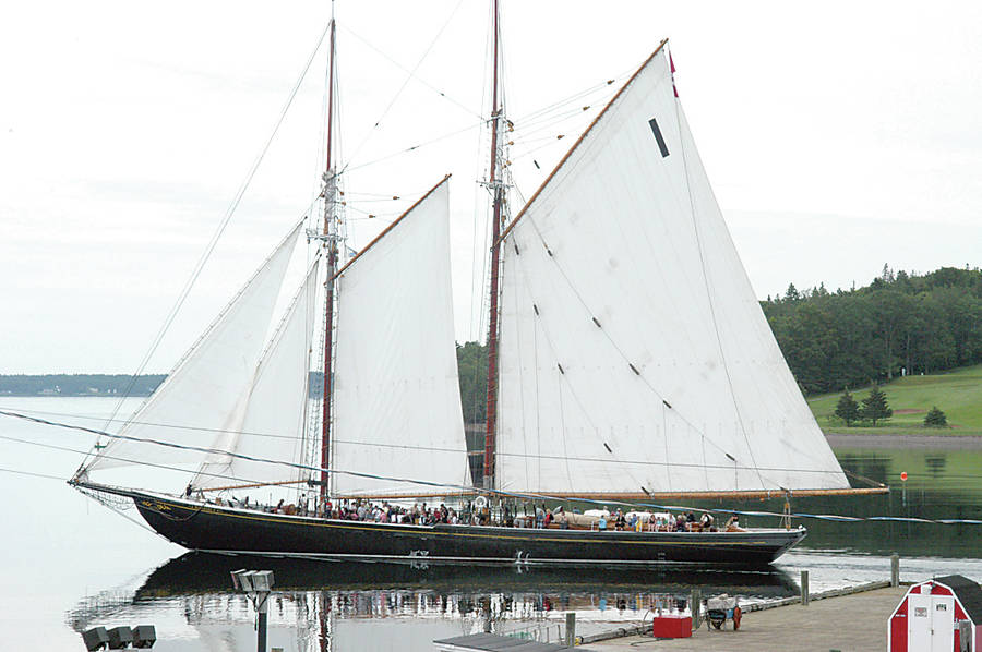 <p>FILE PHOTO</p><p>The Bluenose II will be on the waterfront along with 10 other vessels.</p>