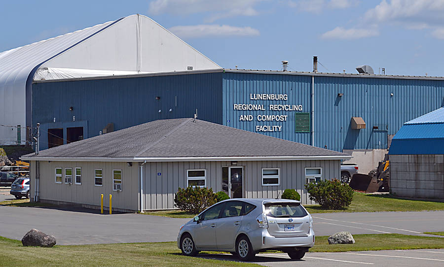 <p>GAYLE WILSON PHOTO</p><p>The recycling plant and administrative offices of the Municipal Joint Services Board at Whynott's Settlement outside of Bridgewater.</p>
