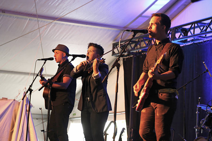 <p>BRITTANY WENTZELL PHOTO</p><p>Hillsburn took the stage for the first time last year and are returning as fan favourites at the festival.</p>
