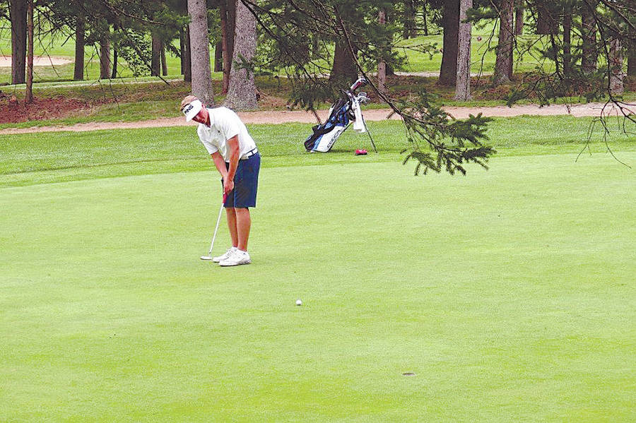 <p>CONTRIBUTED PHOTO</p><p>Golfer Matthew Chandler recently received an athletic scholarship to attend Missouri's Southwest Baptist University.</p>