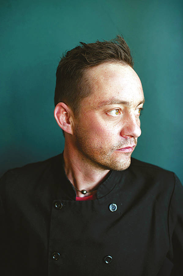 <p>CONTRIBUTED PHOTO</p><p>Chef Matthew Krizan from Mateus Bistro in Mahone Bay is one of 10 guest chefs from across the country who will cook for an outdoor dinner in front of Parliament Hill.</p>
