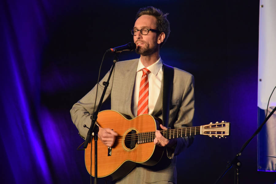 <p>MICHAEL LEE PHOTO</p><p>East Coast Music Award winner David Myles brought his signature sound and style to the stage.</p>