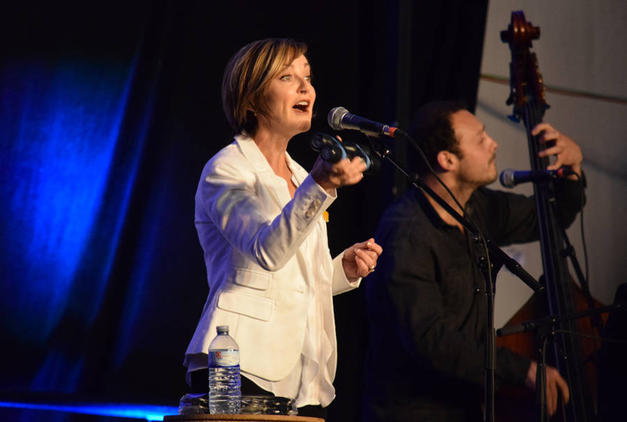 <p>MICHAEL LEE PHOTO</p><p>Heather Rankin played songs from her debut solo record, as well as Rankin Family favourites.</p>