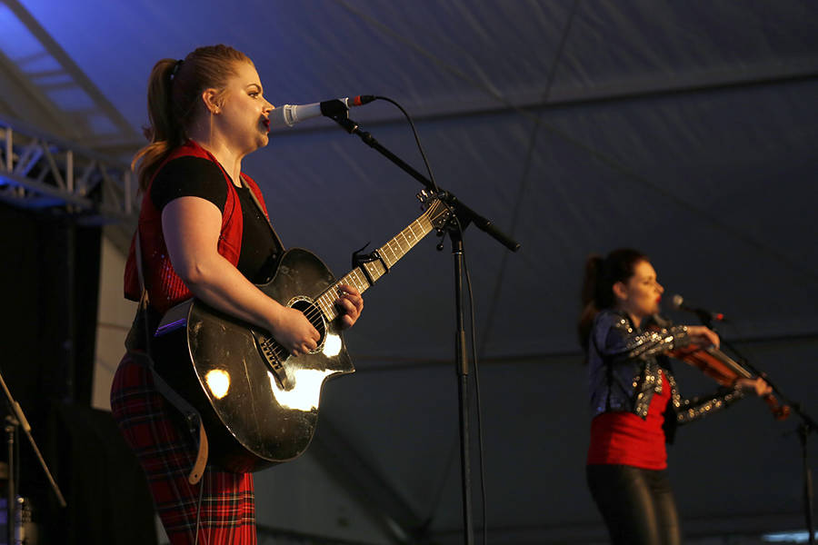 <p>BRITTANY WENTZELL PHOTO</p><p>From left, Maggie MacDonald and her sister Cassie.</p>