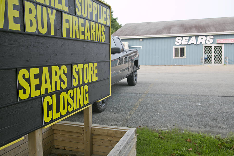 <p>BRITTANY WENTZELL PHOTO</p><p>The Sears Hometown store in Liverpool is closing its doors but the owner says he'll be selling his own appliances, mattresses, and other items he used to sell through the franchise.</p>