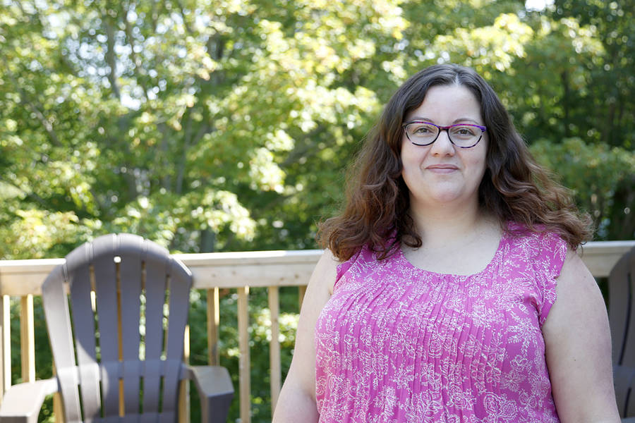 <p>BRITTANY WENTZELL PHOTO</p><p>Julie Veinot, executive director of the Lunenburg Sexual Health Centre, says she is happy to see some barriers to abortion taken down but says there is still work to be done on the South Shore.</p>