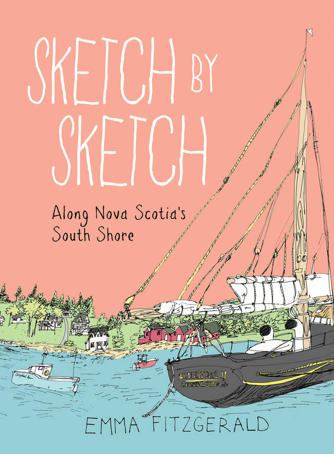 <p>CONTRIBUTED IMAGE</p><p>The cover image of Sketch by Sketch Along Nova Scotia's South Shore features the Town of Lunenburg.</p>