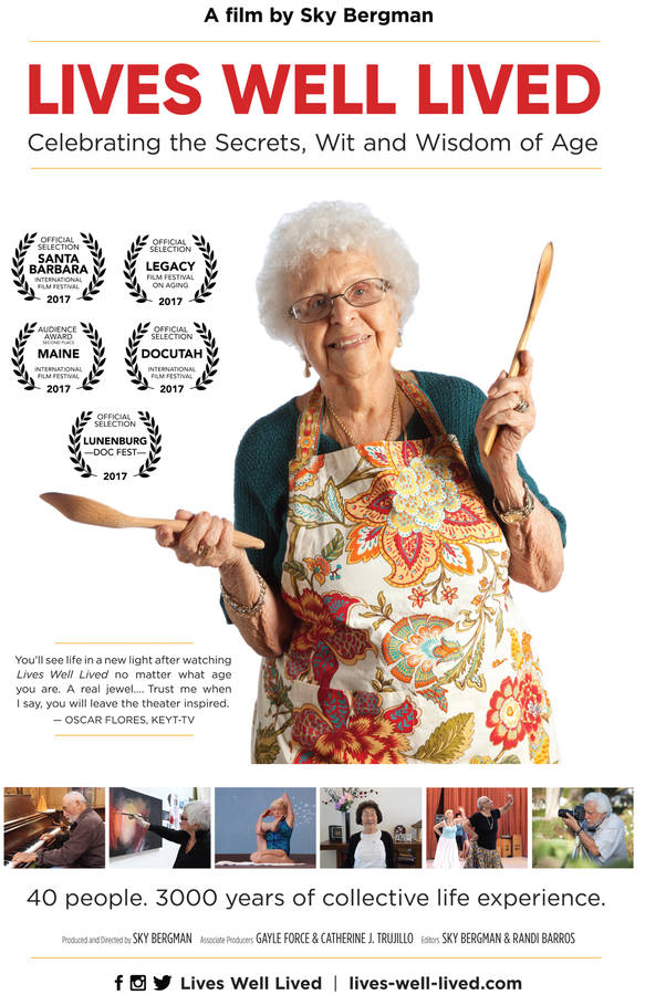 <p>CONTRIBUTED PHOTO</p><p><em>Lives Well Lived</em>, one of the documentaries to air at this year's Doc Fest, reveals 3000 years of combined life experience, and that all lives have the ability to make lasting impacts.</p>