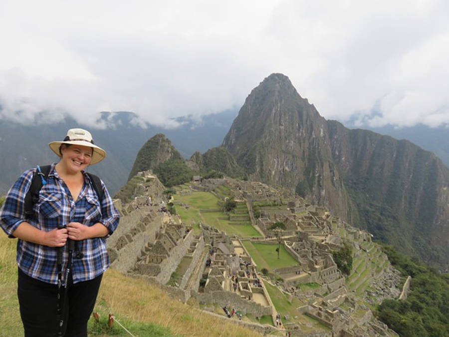 <p>CONTRIBUTED PHOTO</p><p>Carla Powell wrote about her hike on the Inca Trail and submitted the story to CBC. She's now been shortlisted for their nonfiction prize.</p>