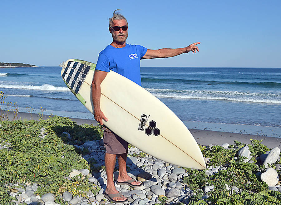 <p>GAYLE WILSON PHOTO</p><p>Jeff Norman, a certified life surf instructor, gives lessons at White Point Lodge beach and beyond.</p>