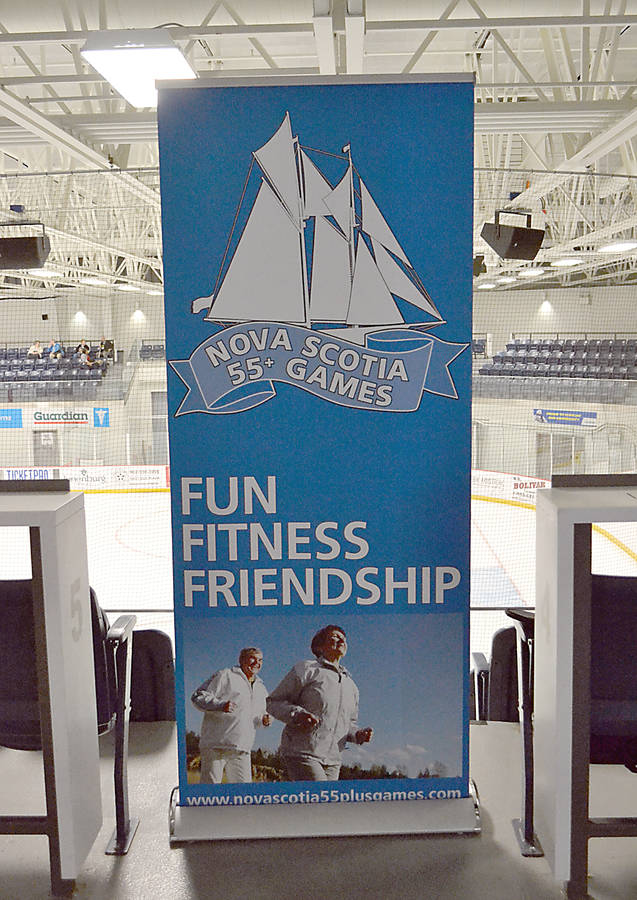 <p>GAYLE WILSON PHOTO</p><p>Nearly 800 people registered to participate in the 55 + Games held hosted by Events Lunenburg County this past weekend.</p>