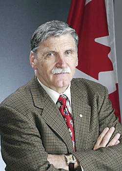 <p>CONTRIBUTED PHOTO</p><p>Romeo Dallaire, author of Shake Hands with the Devil</p>