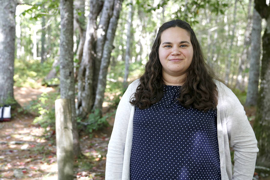 <p>BRITTANY WENTZELL PHOTO</p><p>Kaitlin MacLean, assistant archaeologist with the Kwilmu'kw Maw-klusuaqn Mi'maq Rights Initiative, took part in the excavations at the Eel Weir site in Kejimkujik National Park.</p>