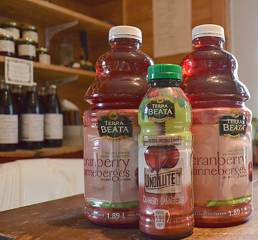 <p>GAYLE WILSON PHOTO</p><p>Terra Beata produces 4,000 bottles of cranberry juice a day.</p>